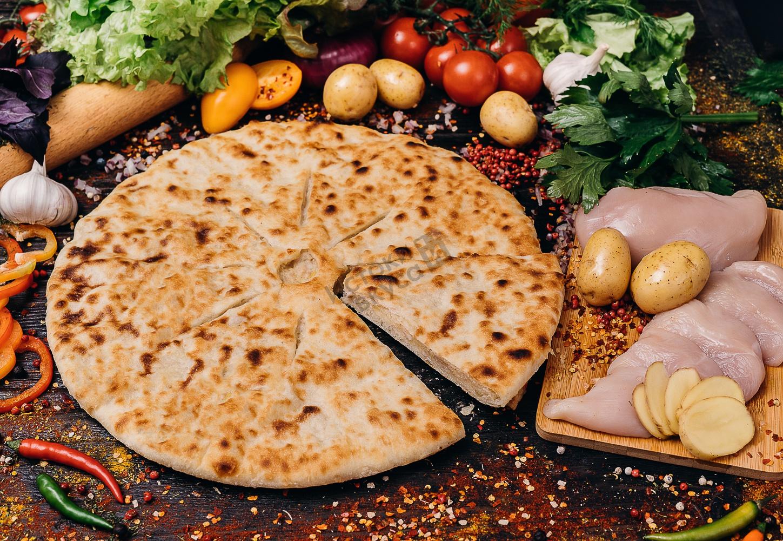 сожалению, осетинский пирог с мясом картинки крайней мере